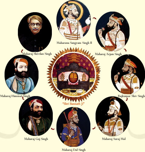 mewar royal family tree